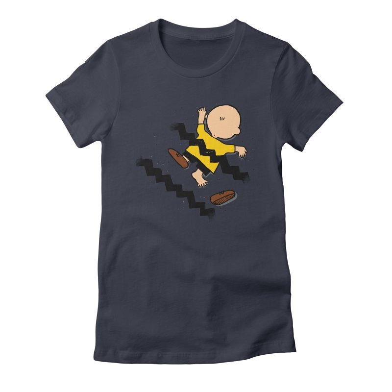 Oh Charlie! Women's Fitted T-Shirt by alvarejo's Shop