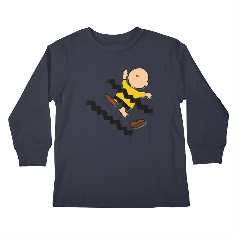 Oh Charlie! Kids Longsleeve T-Shirt by alvarejo's Shop