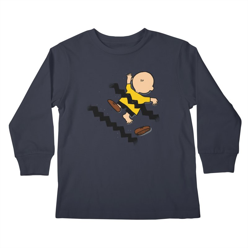 Oh Charlie! Kids Longsleeve T-Shirt by alvarejo's Shop