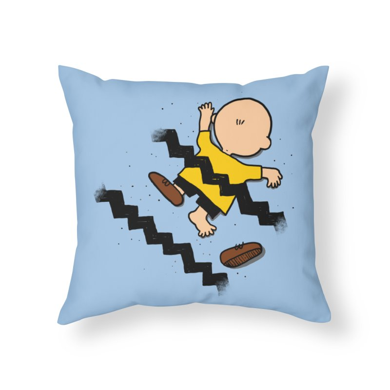 Oh Charlie! Home Throw Pillow by alvarejo's Shop