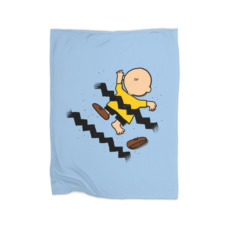 Oh Charlie! Home Fleece Blanket Blanket by alvarejo's Shop