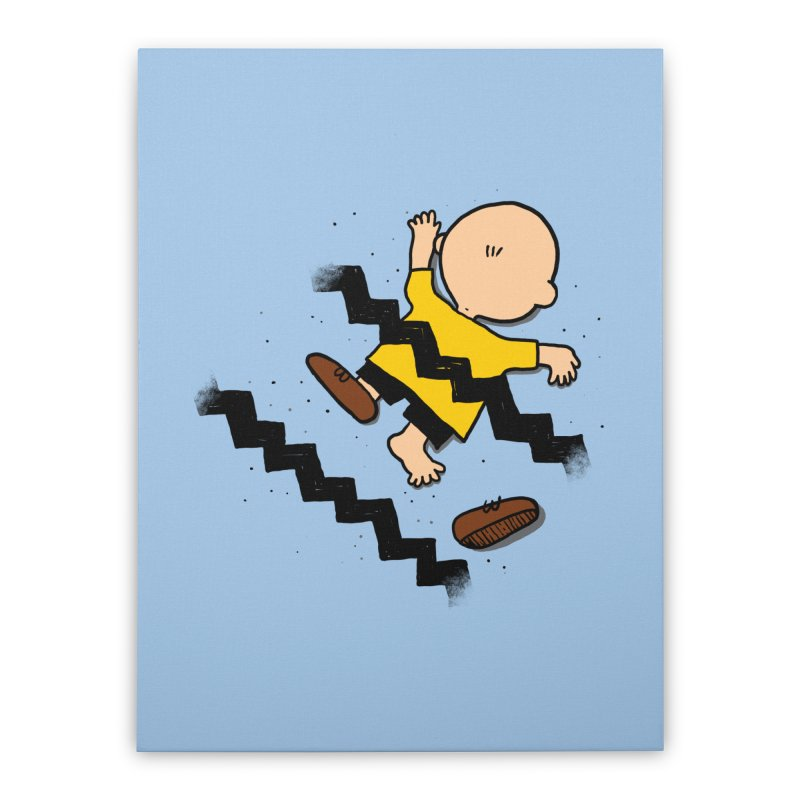Oh Charlie! Home Stretched Canvas by alvarejo's Shop