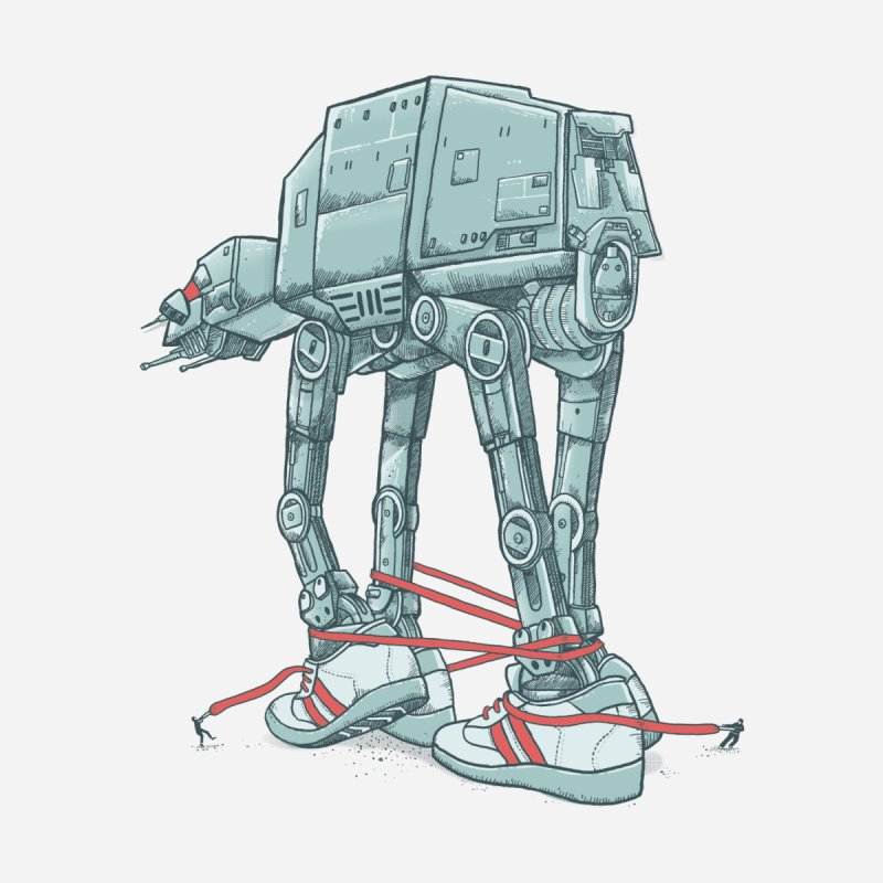 AT - A TIE by alvarejo's Shop