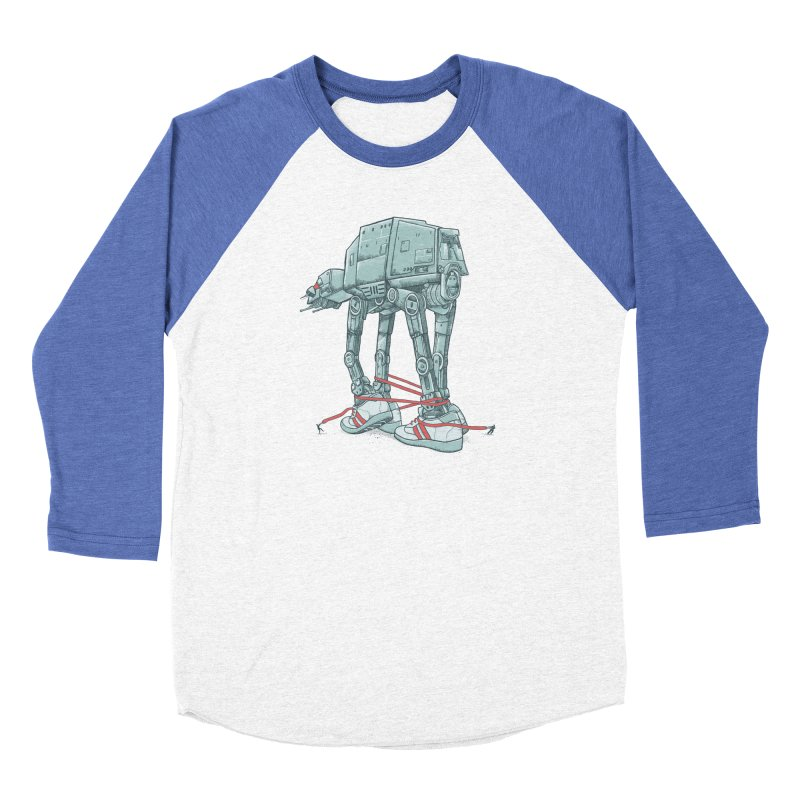 AT - A TIE Men's Baseball Triblend Longsleeve T-Shirt by alvarejo's Shop