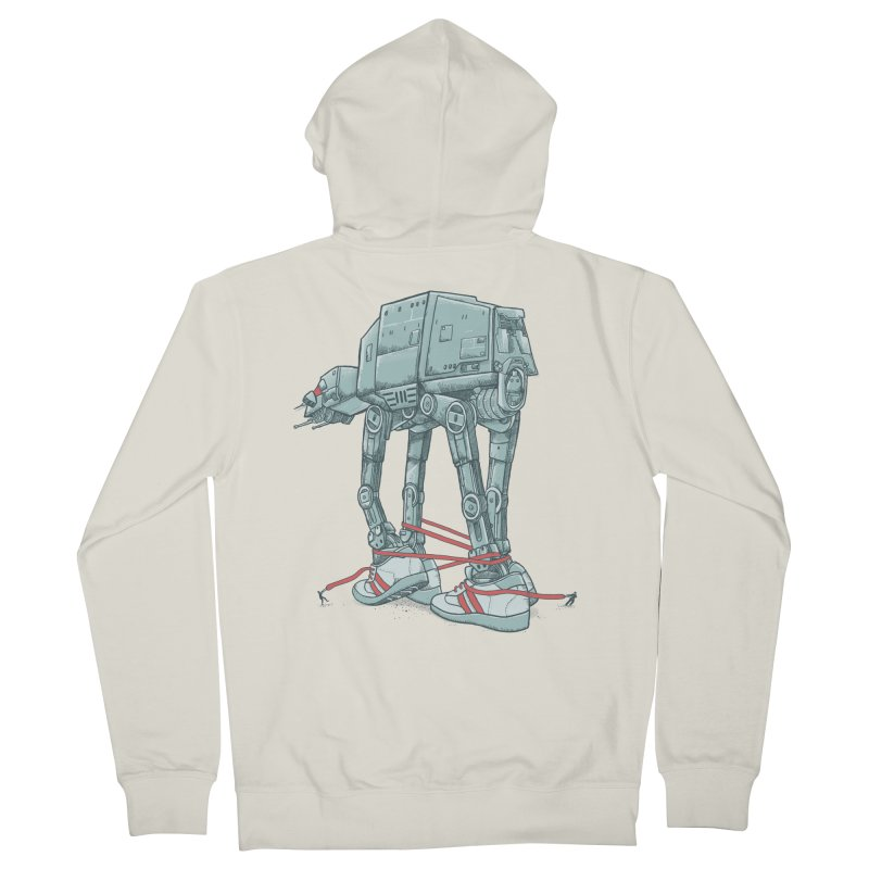 AT - A TIE Men's French Terry Zip-Up Hoody by alvarejo's Shop