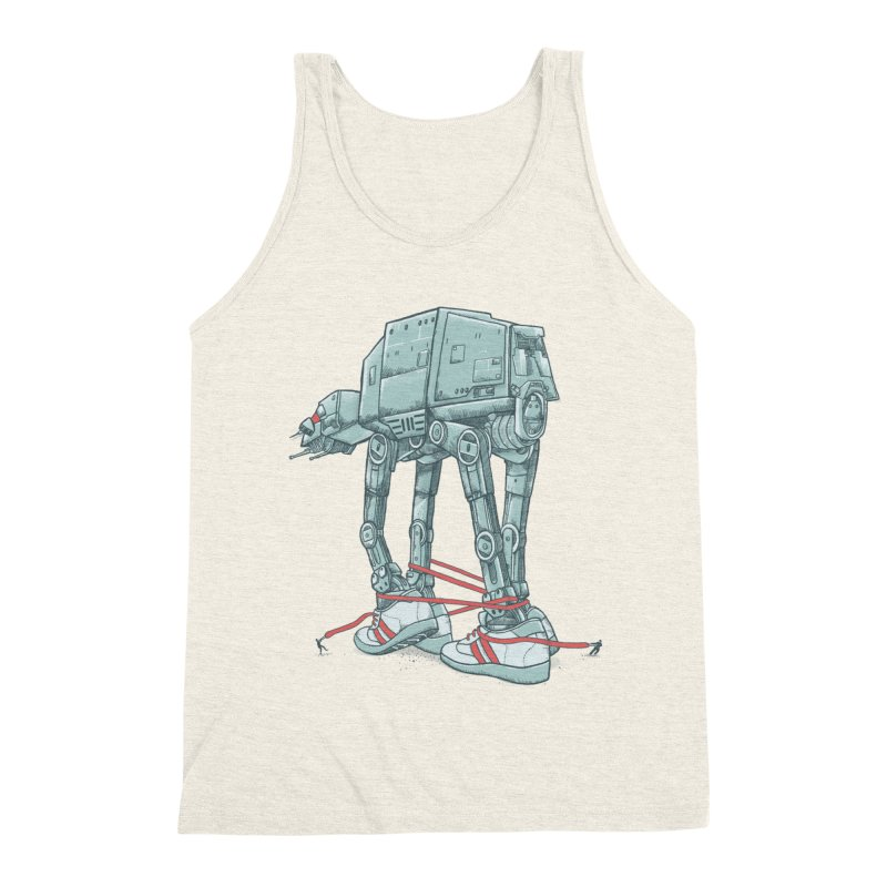 AT - A TIE Men's Triblend Tank by alvarejo's Shop
