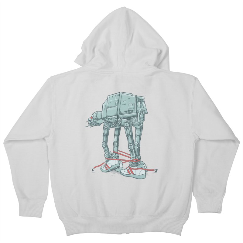 AT - A TIE Kids Zip-Up Hoody by alvarejo's Shop