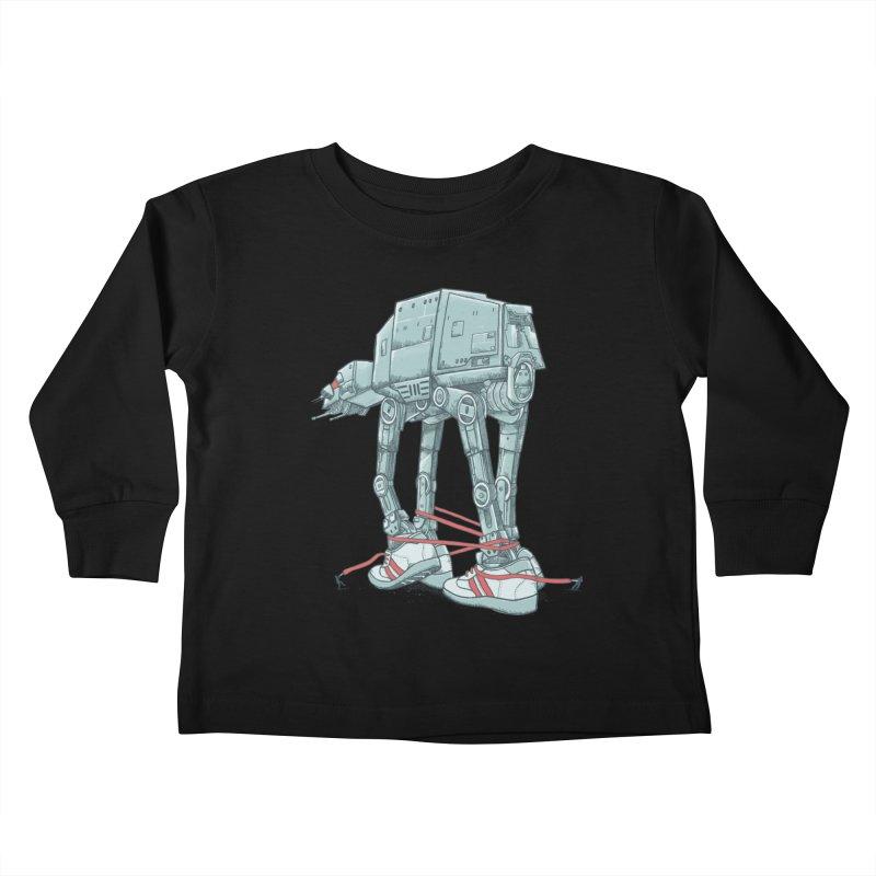AT - A TIE Kids Toddler Longsleeve T-Shirt by alvarejo's Shop