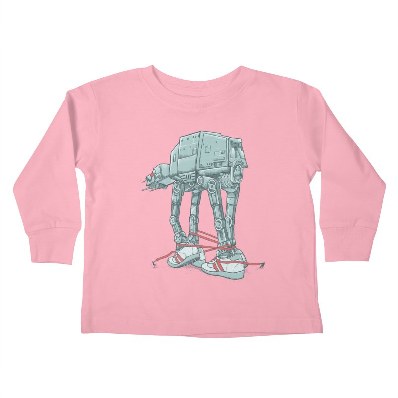 AT - A TIE Kids Toddler Longsleeve T-Shirt by alvarejo's Shop