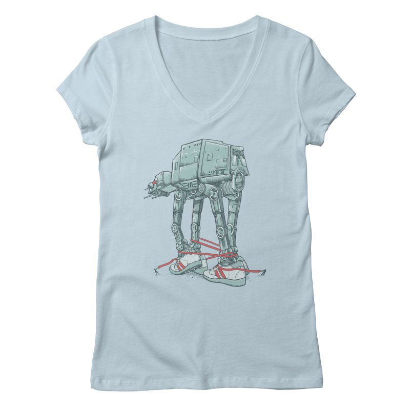 AT - A TIE Women's V-Neck by alvarejo's Shop