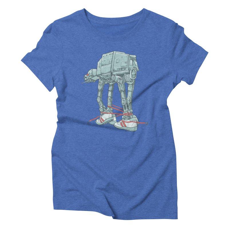 AT - A TIE Women's Triblend T-Shirt by alvarejo's Shop