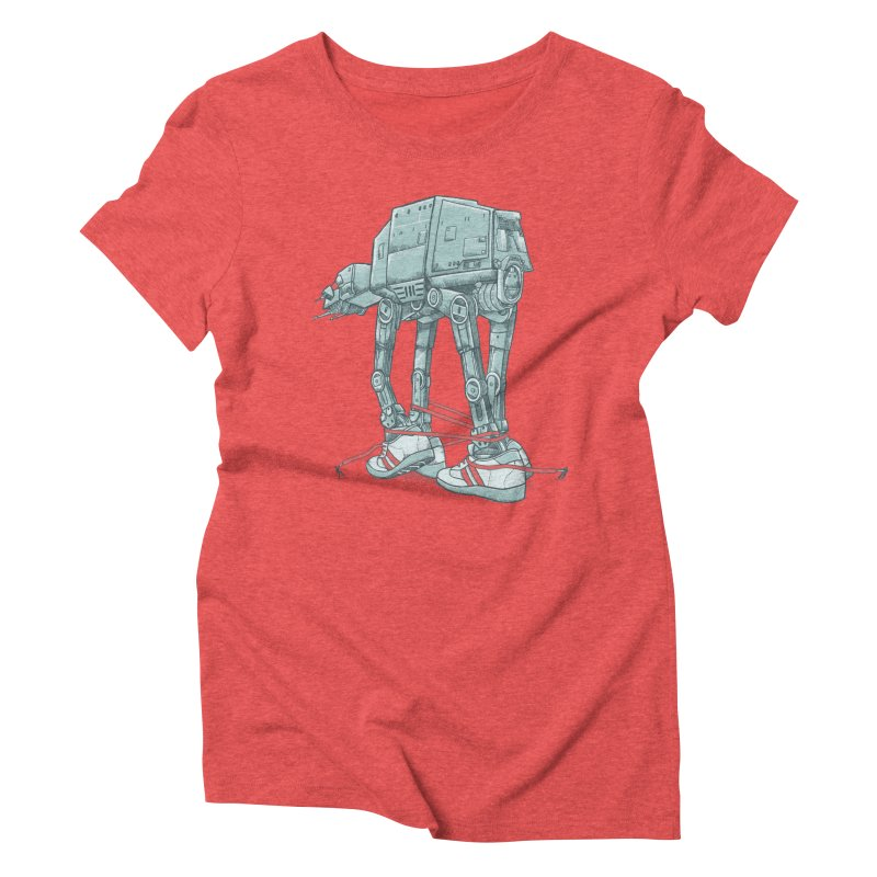 AT - A TIE Women's Triblend T-Shirt by alvarejo's Shop