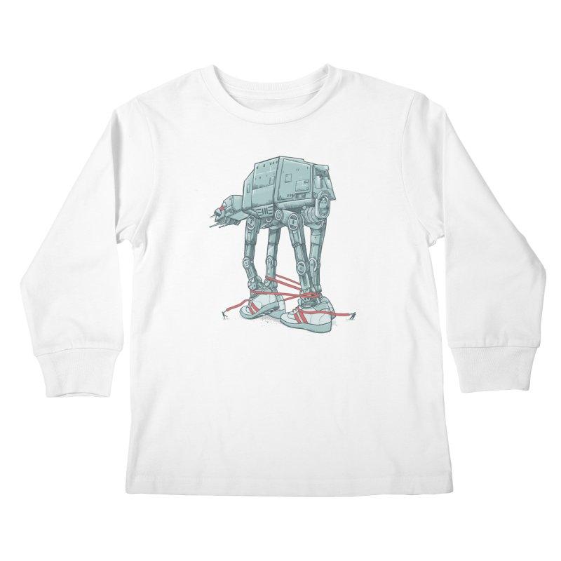 AT - A TIE Kids Longsleeve T-Shirt by alvarejo's Shop