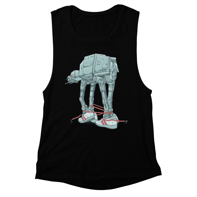 AT - A TIE Women's Muscle Tank by alvarejo's Shop
