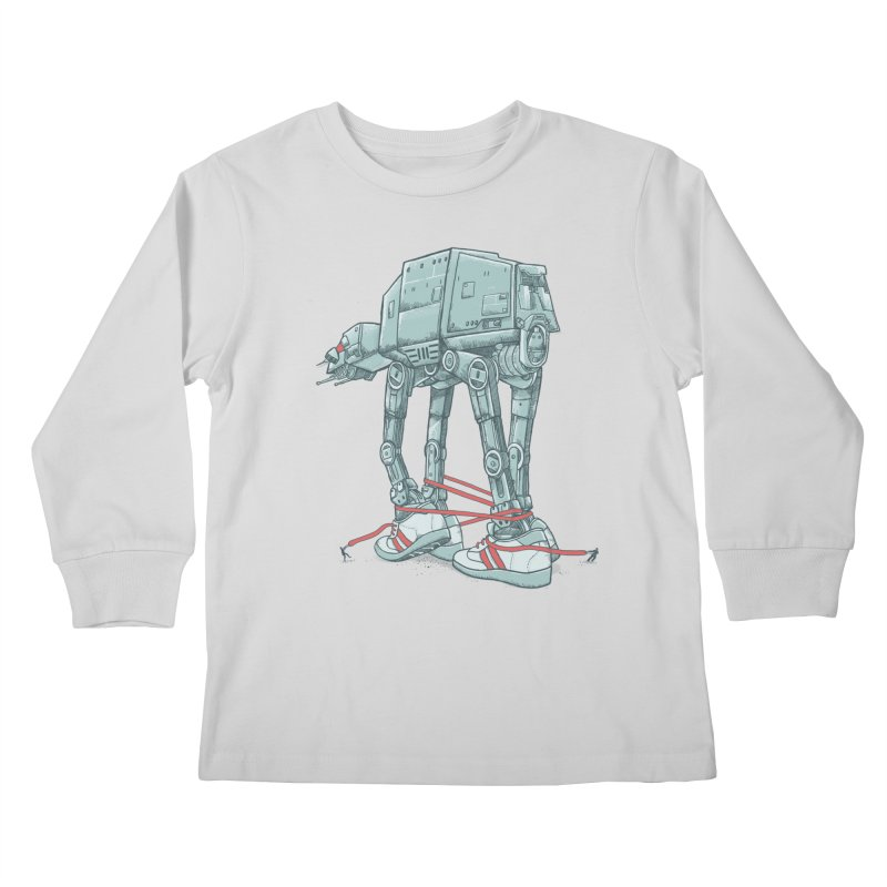 AT - A TIE Kids Longsleeve T-Shirt by alvarejo's Shop