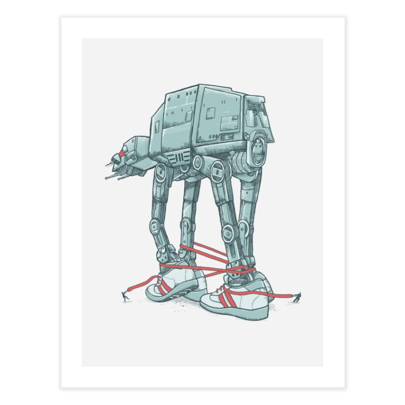 AT - A TIE Home Fine Art Print by alvarejo's Shop
