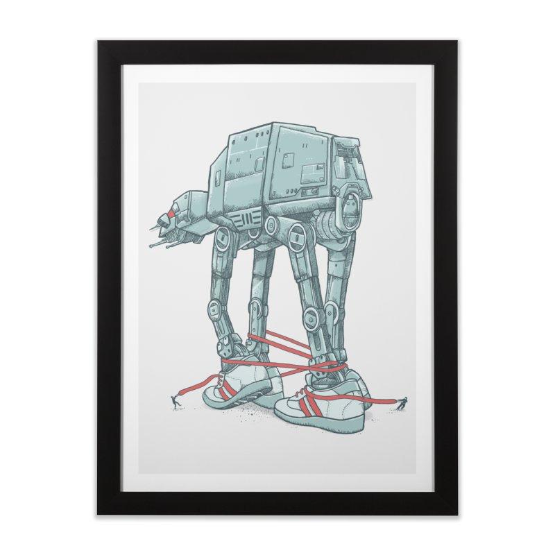 AT - A TIE Home Framed Fine Art Print by alvarejo's Shop