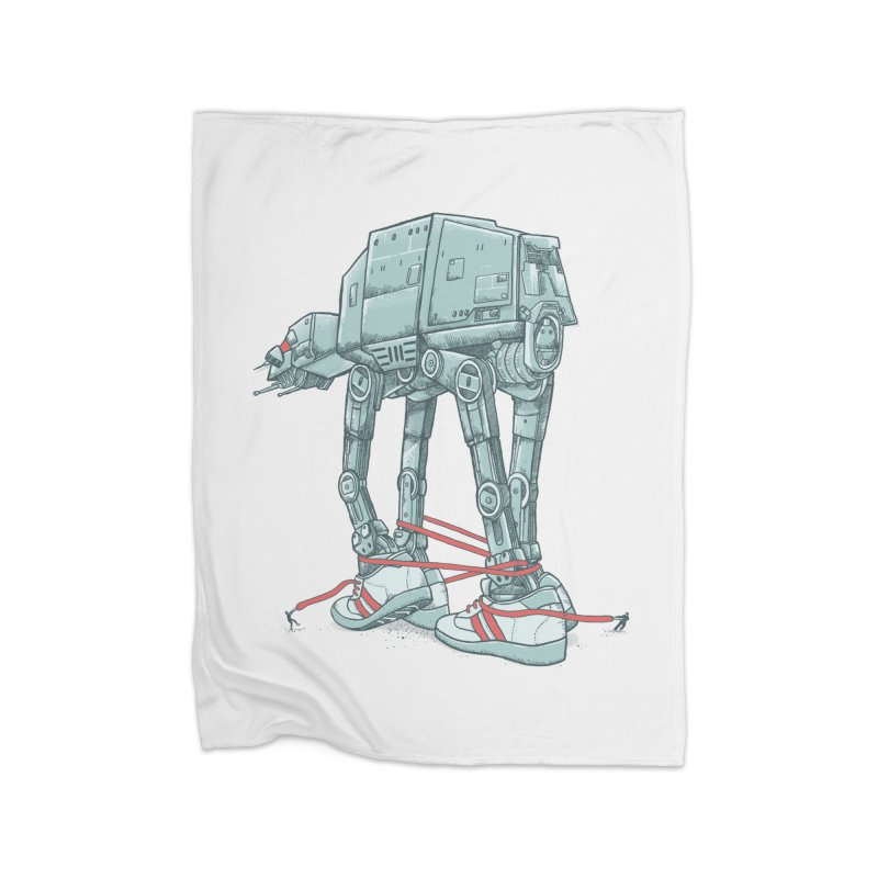 AT - A TIE Home Fleece Blanket Blanket by alvarejo's Shop