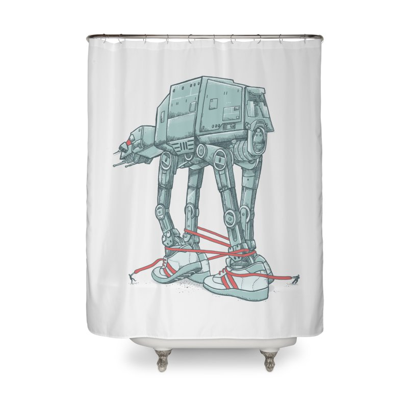 AT - A TIE Home Shower Curtain by alvarejo's Shop