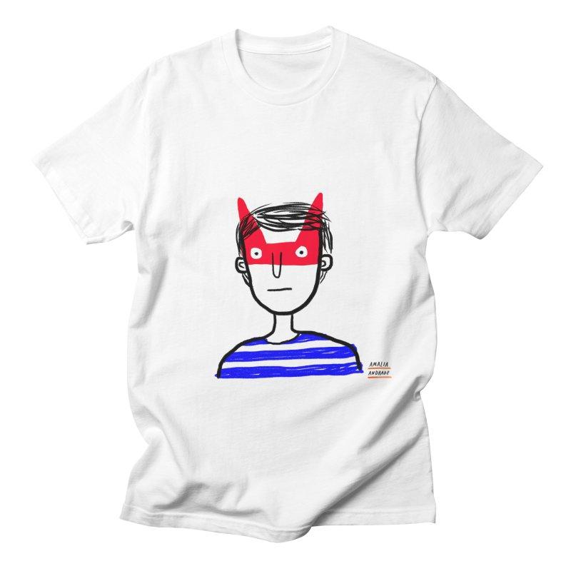 Bichi Men's T-Shirt by Amalia Andrade