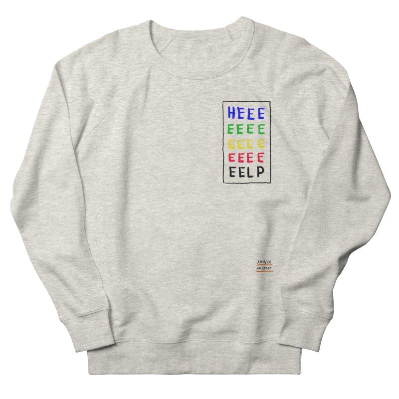 HEEEEEEEELP Women's Sweatshirt by Amalia Andrade
