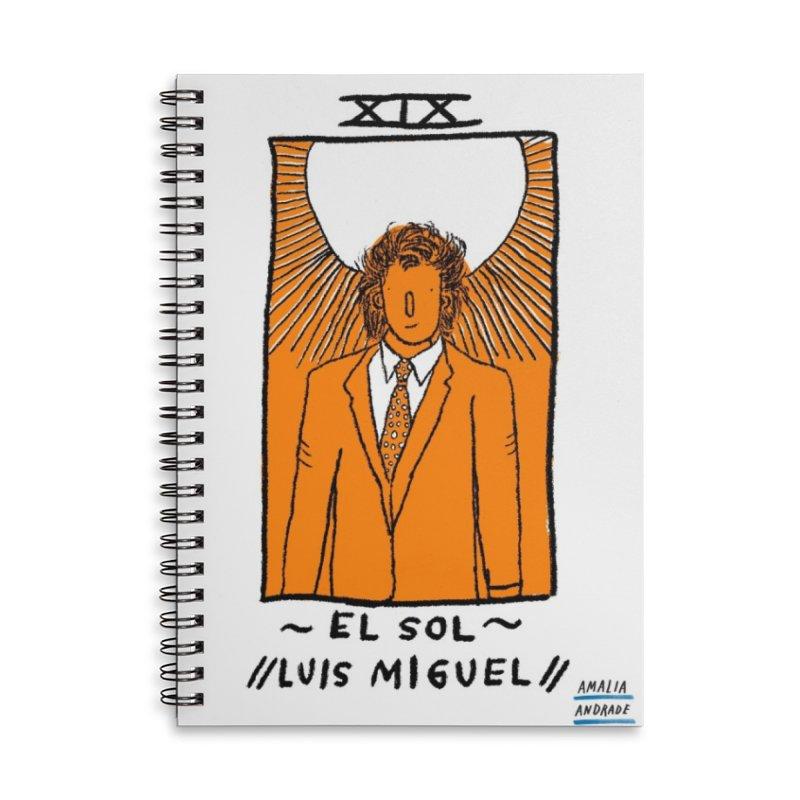 El Sol // Luis Miguel // Accessories Notebook by Amalia Andrade