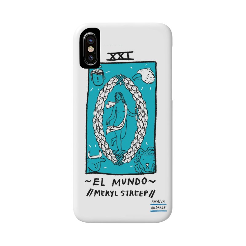 El Mundo // Meryl Streep // Accessories Phone Case by Amalia Andrade
