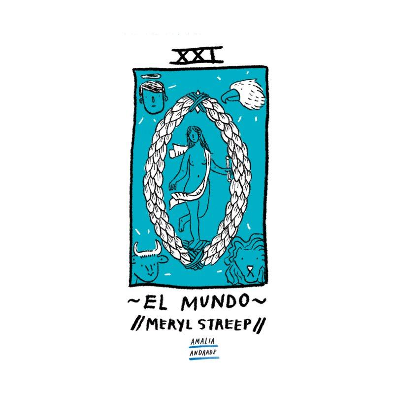El Mundo // Meryl Streep // None  by Amalia Andrade