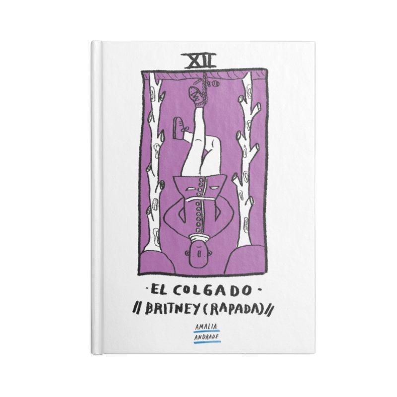 El colgado // Britney (rapada) // Accessories Blank Journal Notebook by Amalia Andrade