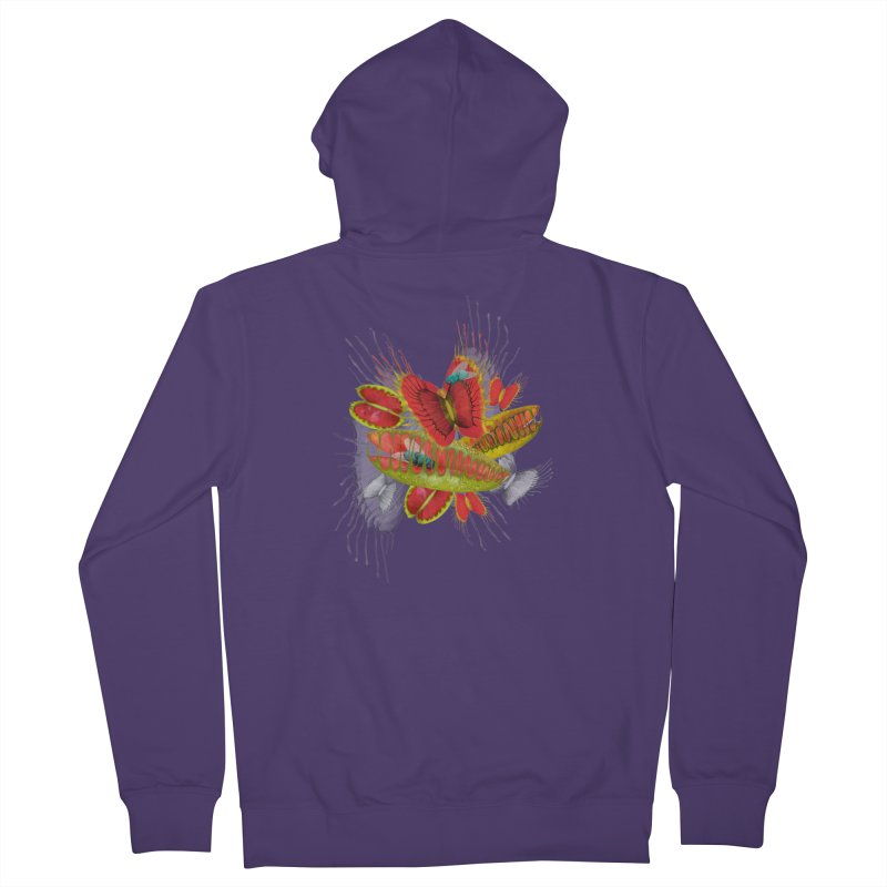 Beautiful And Deadly Women's Zip-Up Hoody by amandadilworth's Artist Shop