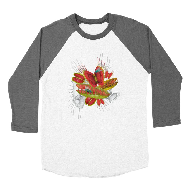 Beautiful And Deadly Women's Baseball Triblend T-Shirt by amandadilworth's Artist Shop