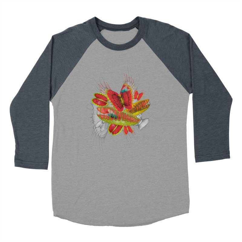 Beautiful And Deadly Men's Baseball Triblend T-Shirt by amandadilworth's Artist Shop