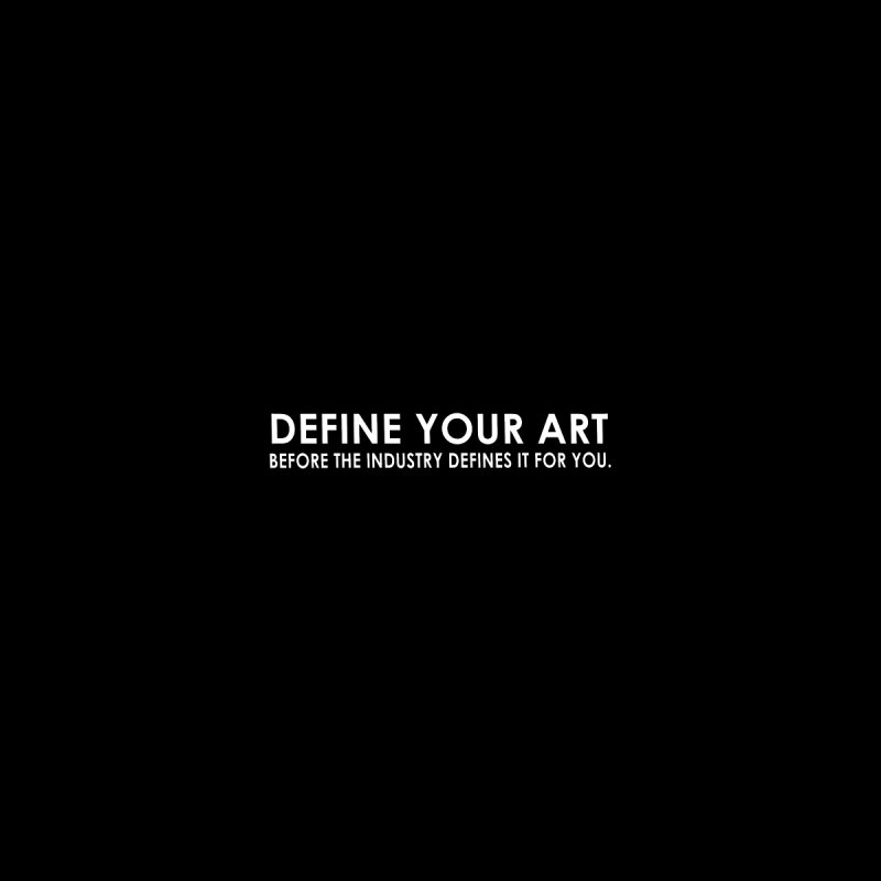 DEFINE YOUR ART Men's T-Shirt by Amanda Seales