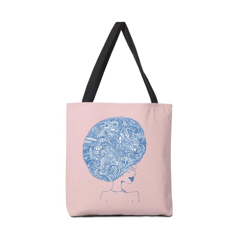 AFRO SERIES Accessories Tote Bag Bag by Amanda Seales