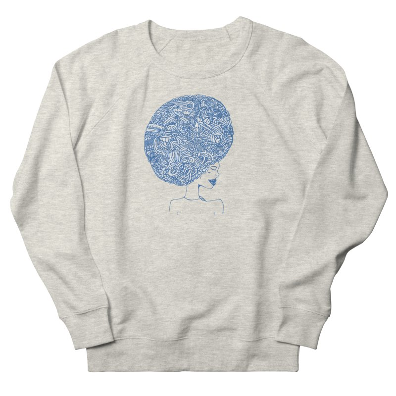 AFRO SERIES Men's French Terry Sweatshirt by Amanda Seales