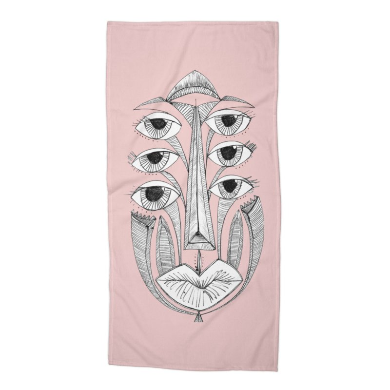 3rd Eye Open Accessories Beach Towel by Amanda Seales