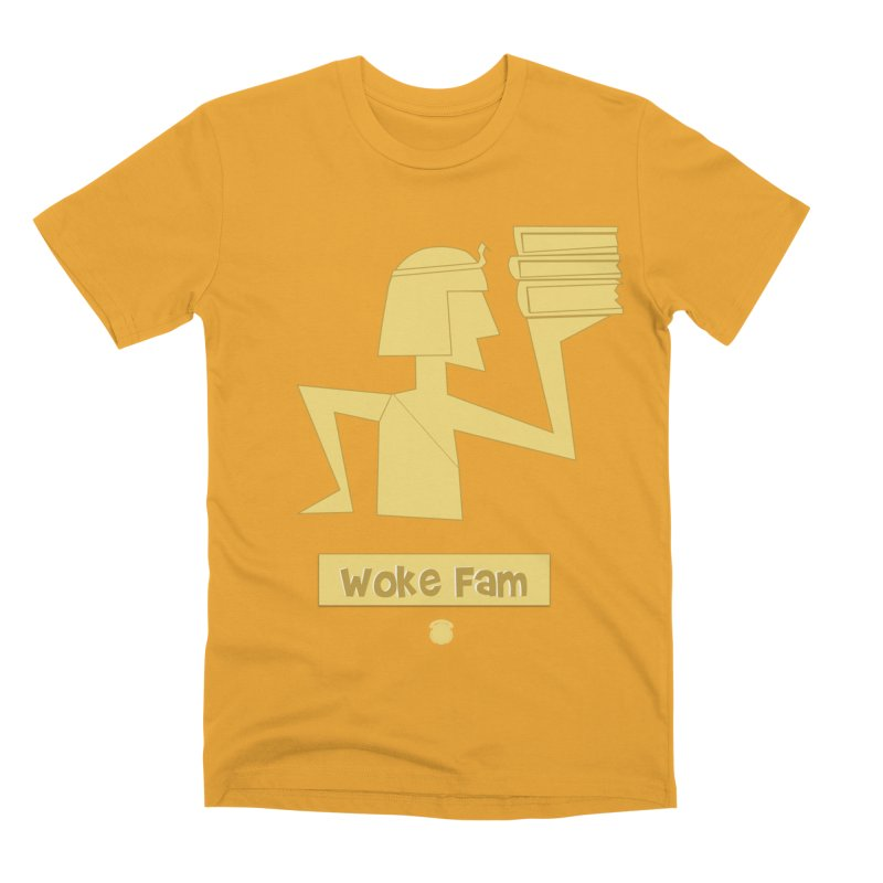 WOKE FAM Men's Premium T-Shirt by Amanda Seales