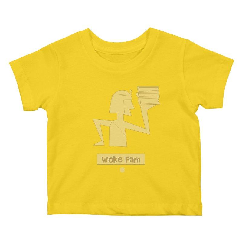 WOKE FAM Kids Baby T-Shirt by Amanda Seales