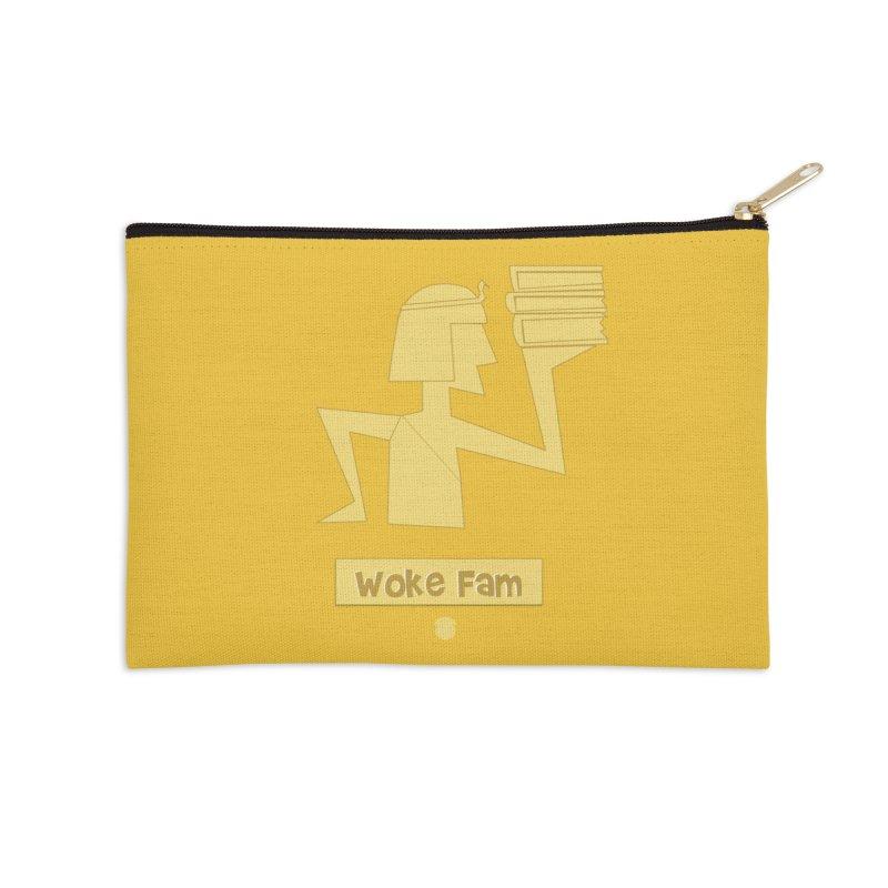 WOKE FAM Accessories Zip Pouch by Amanda Seales