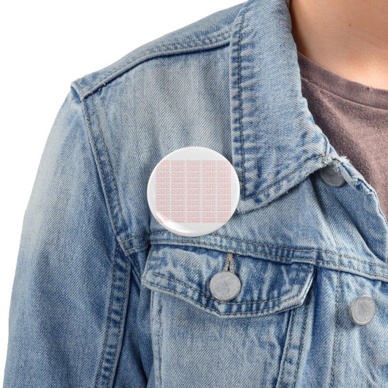 Hella Karens Accessories Button by Amanda Seales
