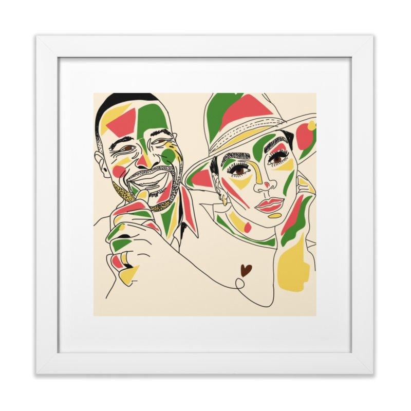 Devon & Meagan Home Framed Fine Art Print by Amanda Seales