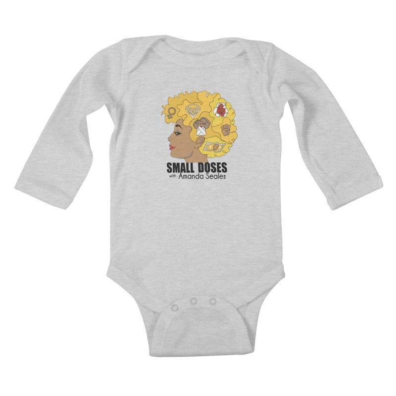 Small Doses Kids Baby Longsleeve Bodysuit by Amanda Seales