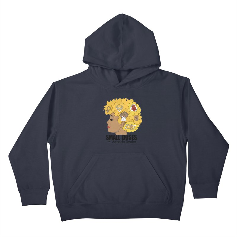 Small Doses Kids Pullover Hoody by Amanda Seales