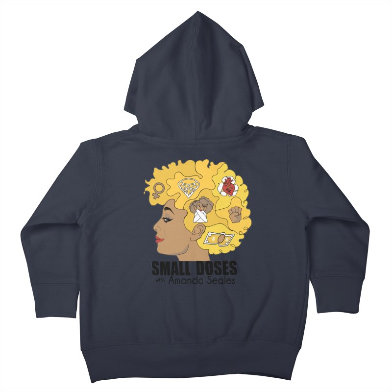 Small Doses Kids Toddler Zip-Up Hoody by amandaseales's Artist Shop