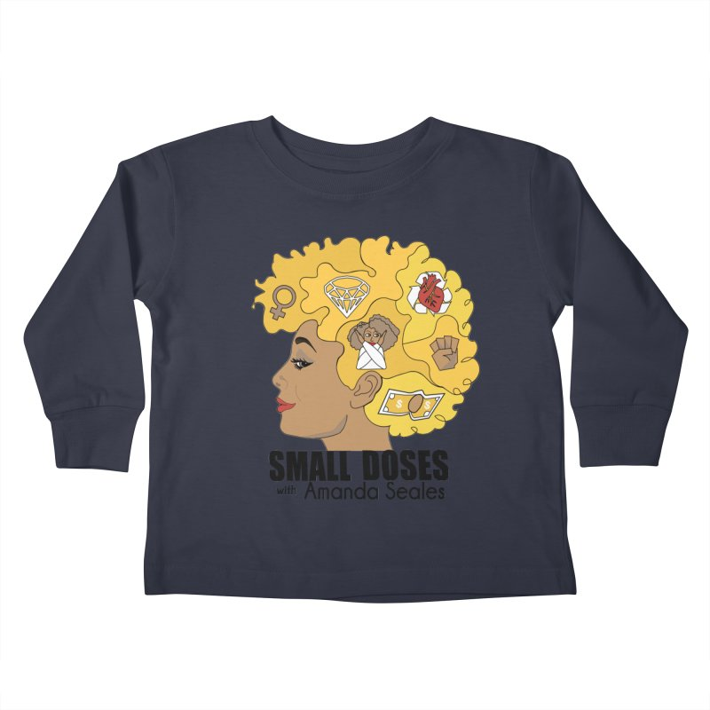 Small Doses Kids Toddler Longsleeve T-Shirt by amandaseales's Artist Shop