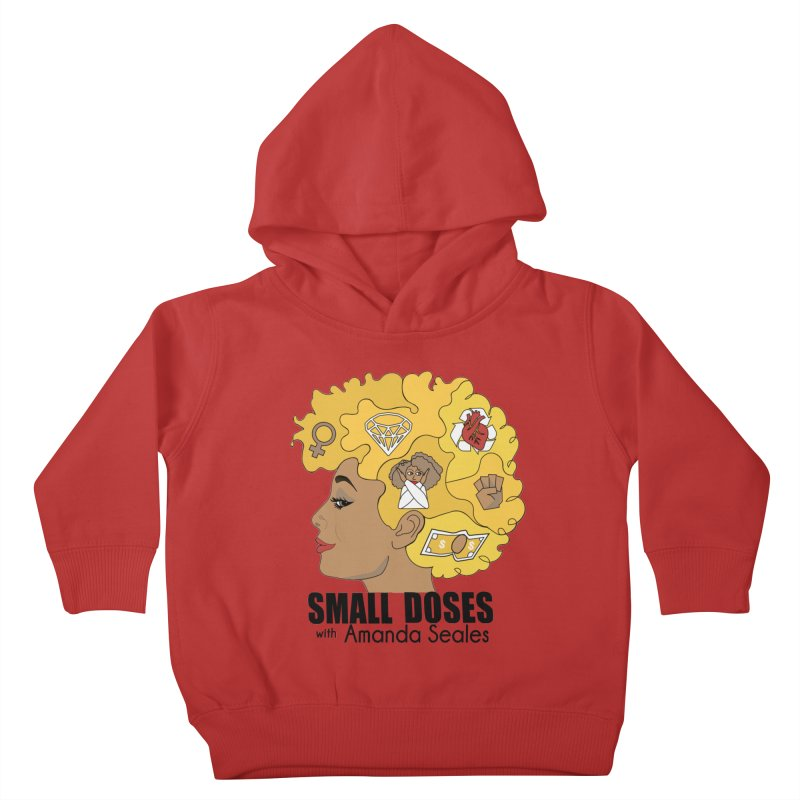 Small Doses Kids Toddler Pullover Hoody by amandaseales's Artist Shop