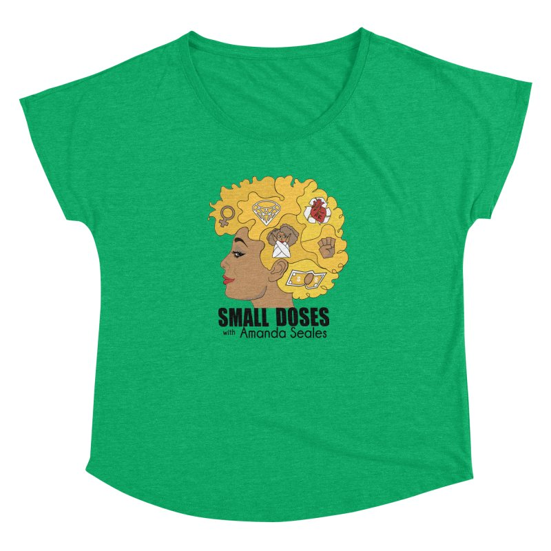 Small Doses Women's Dolman Scoop Neck by amandaseales's Artist Shop