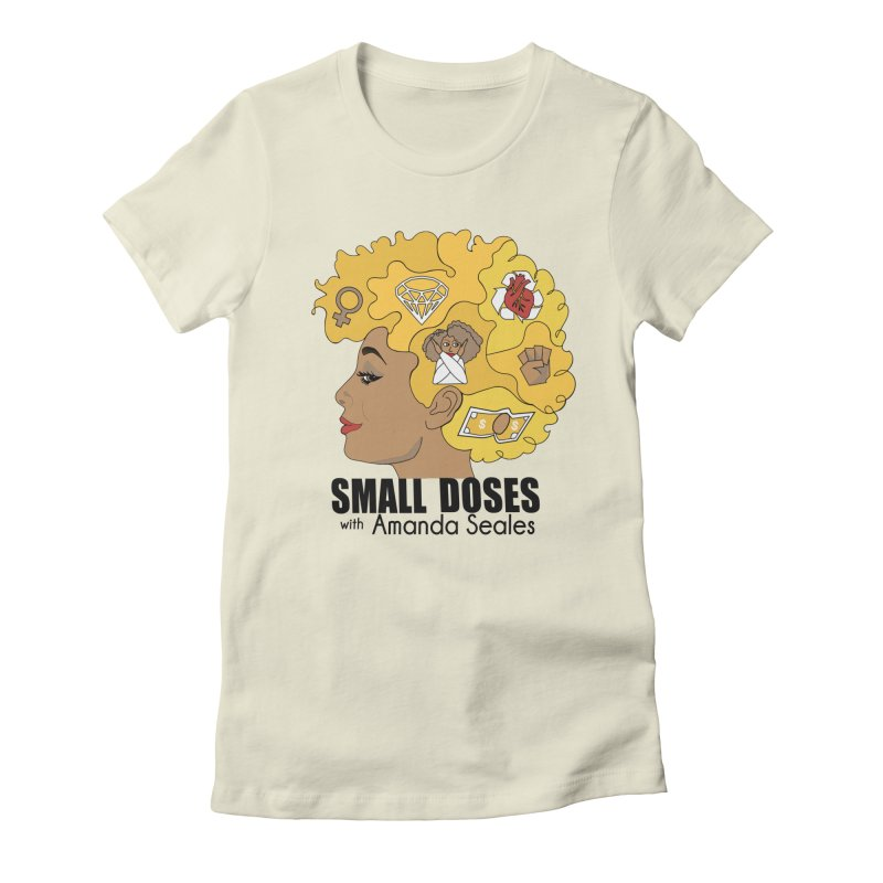 Small Doses Women's Fitted T-Shirt by amandaseales's Artist Shop