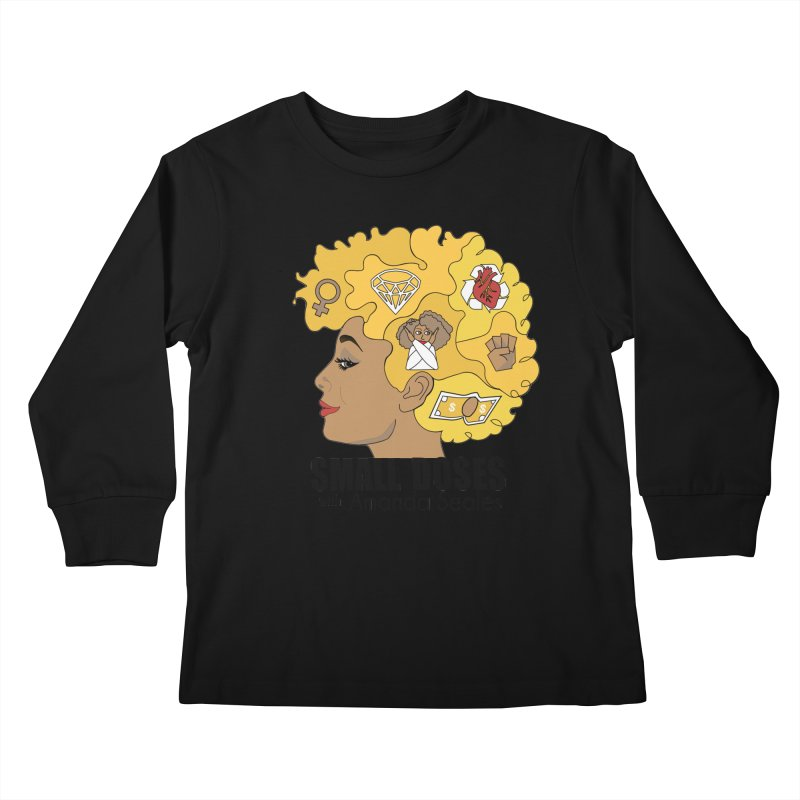 Small Doses Kids Longsleeve T-Shirt by amandaseales's Artist Shop