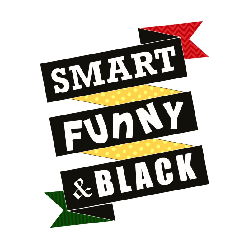Smart Funny & Black Men's T-Shirt by Amanda Seales